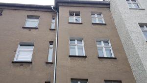 Irenenstraße Fassade Hof vorher