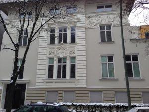 Uhlandstraße Innenarbeiten