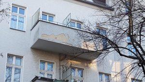 Fassade vorher Tegel