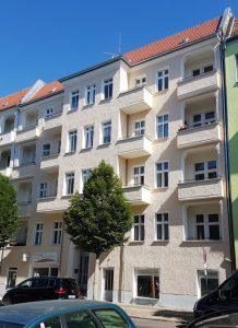 Irenenstraße Fassade