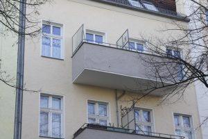 Bernstorffstraße Fassade Balkon