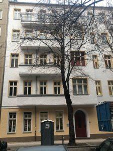 Finowstraße Friedrichshain Fassade