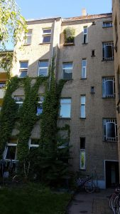 Hoffassade, zacherstraße