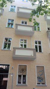 Zacherstraße Balkone